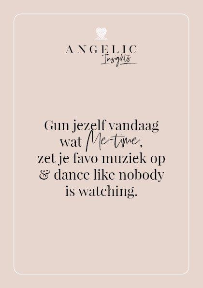 Gun jezelf vandaag wat 'Me time', zet je favo muziek op en dance like nobody is watching